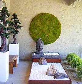 Moss Sculptures